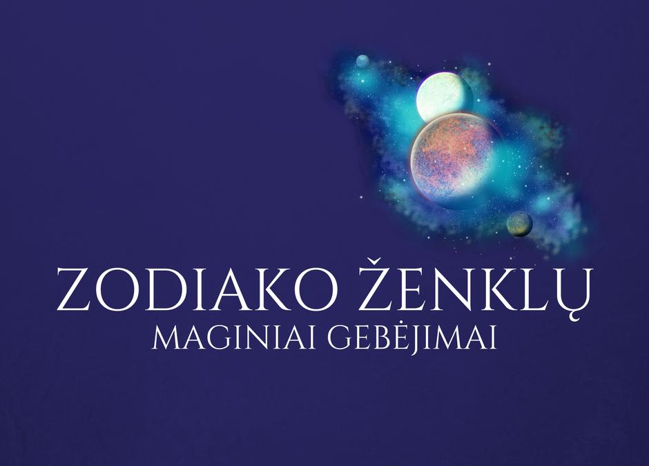 Zodiako ženklų maginiai gebėjimai