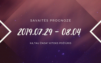 Liepos 29 – rugpjūčio 4 horoskopas