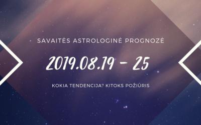 Rugpjūčio 19 – 25 horoskopas