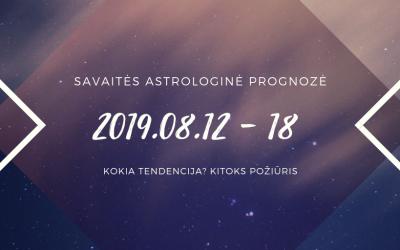 Rugpjūčio 12 – 18 horoskopas