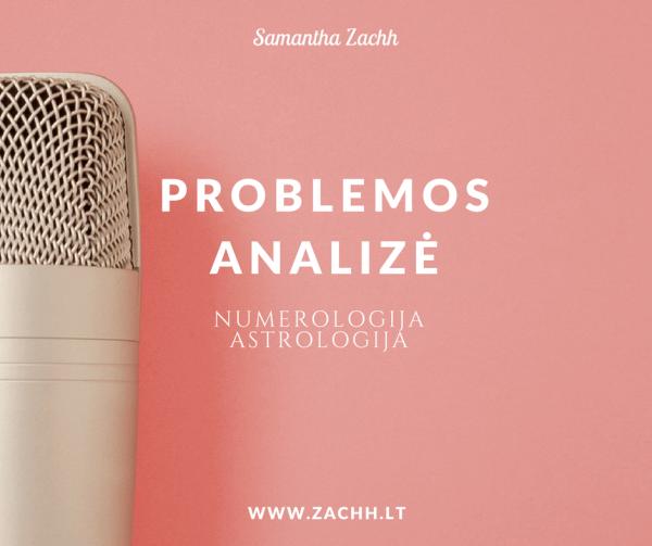 Problemos analizė